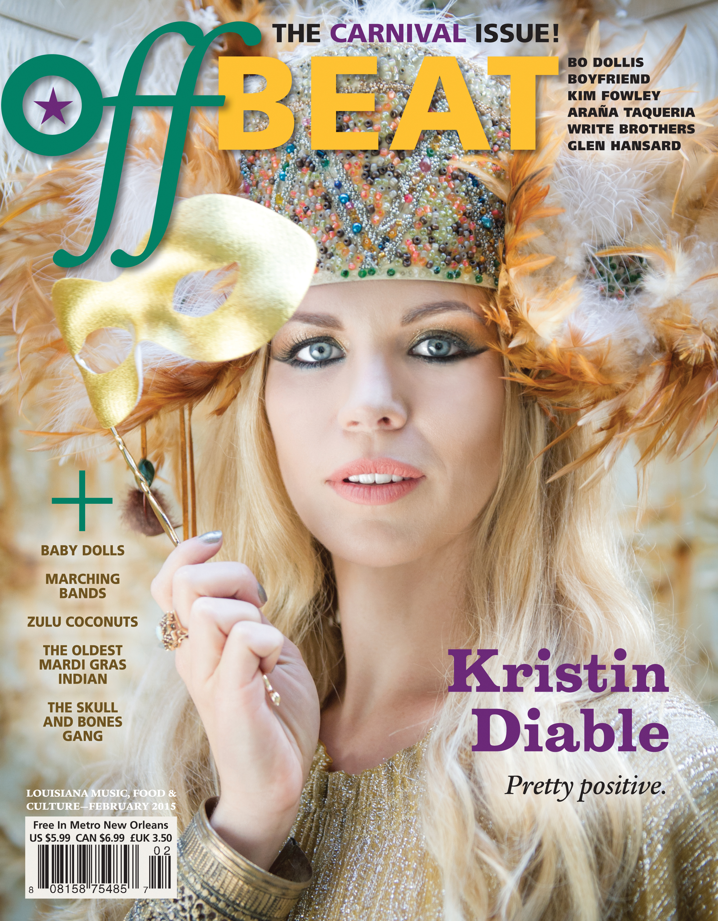 OffBeat Magazine, February 2015