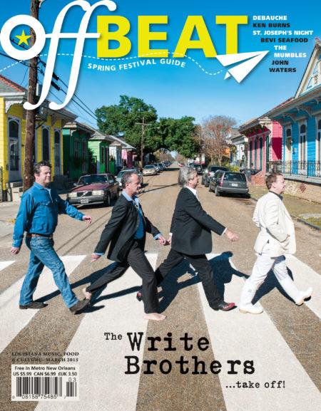 OffBeat Magazine, March 2015