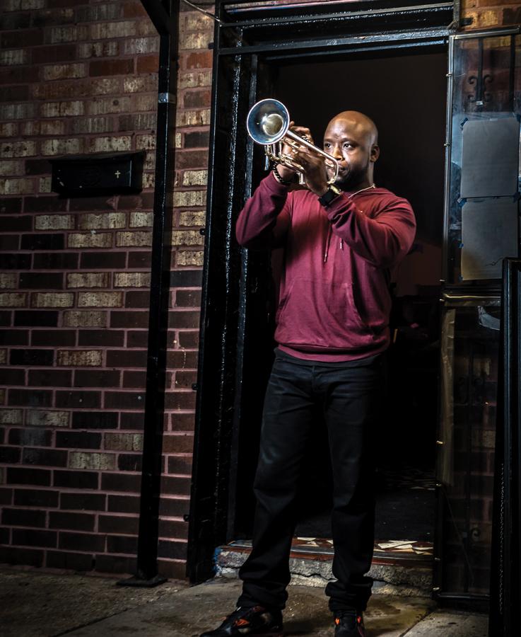 "Travis ""Trumpet Black"" Hill is Back on Track Raymond Hill Saxophonist"