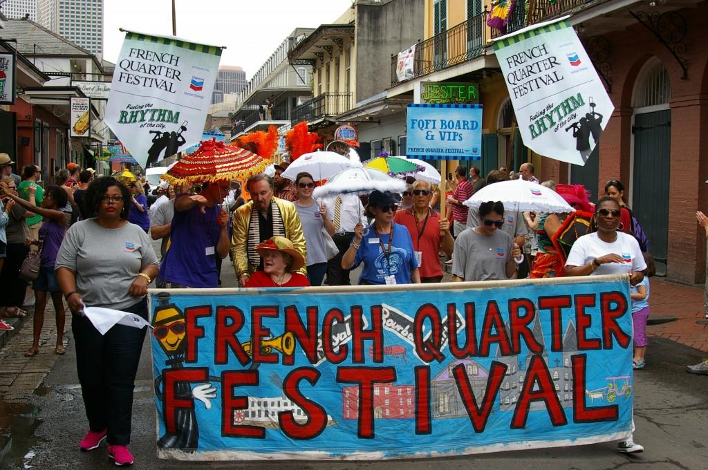 French Quarter Fest 2015, Photo by Stephen Maloney, OffBeat Magazine