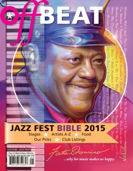 OffBeat Magazine, Jazz Fest Bible, May 2015 Issue