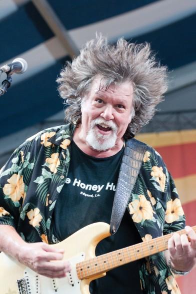 Dave Malone, Photo by Jeffrey Dupuis, OffBeat Magazine, June 2015