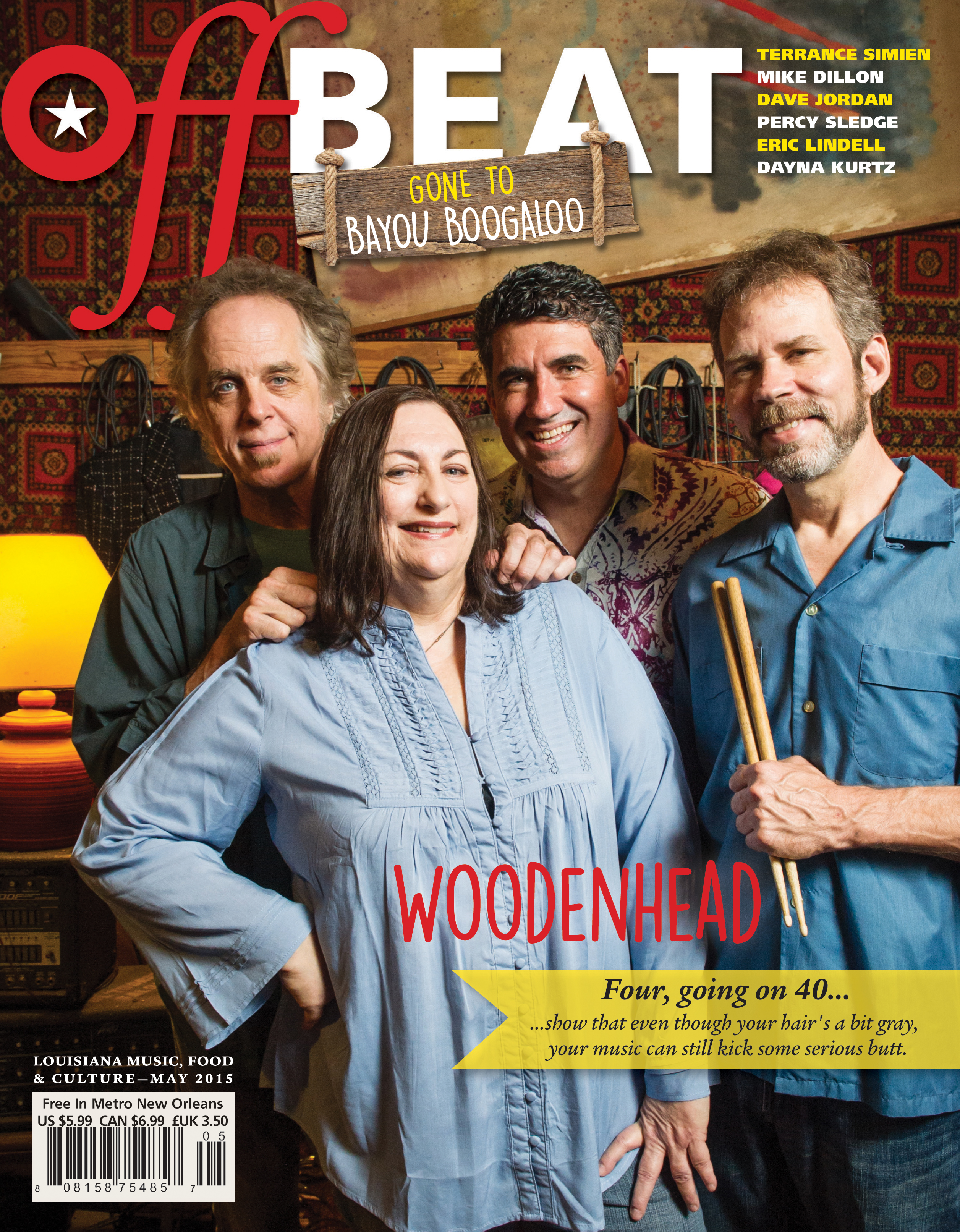 OffBeat Magazine, May 2015