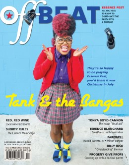 OffBeat Magazine, July 2015, Cover