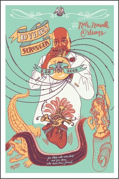 Katrina Poster - Monica Kelly
