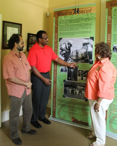 Zydeco Legends Exhibit
