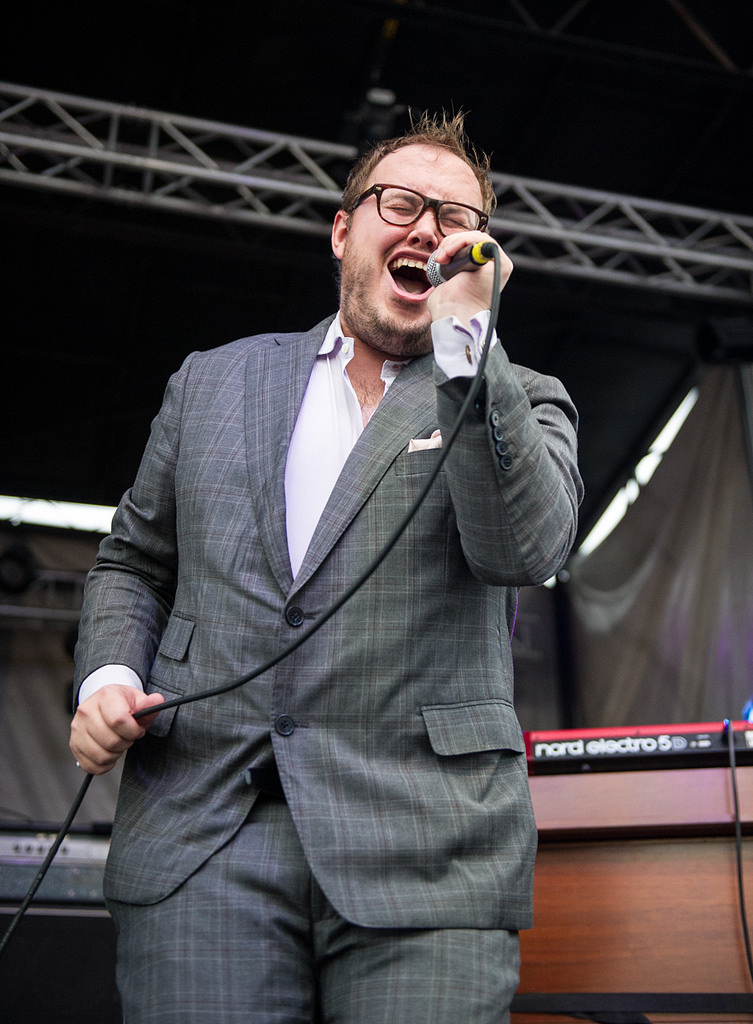 Paul Janeway of St. Paul and the Broken Bones.