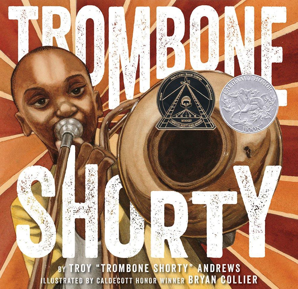 Children S Book Cover Awards : Trombone shorty wins award for children s book