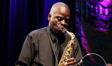 Maceo Parker at Fiya Fest 2014. Photo by Bob Adamek.