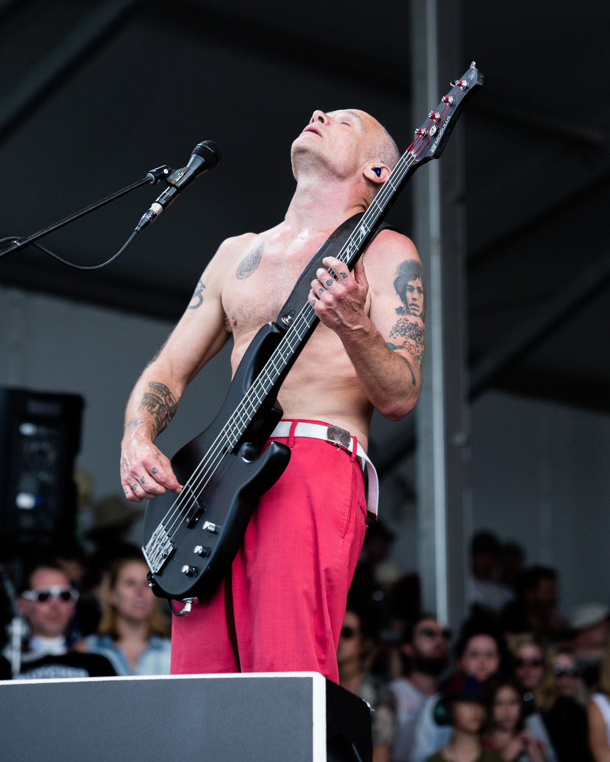 Red Hot Chili Peppers Close Jazz Fest Set With George