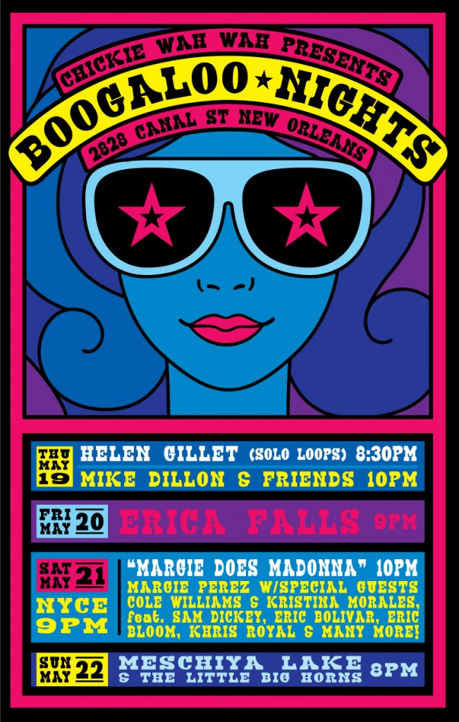 Boogaloo Nights Poster
