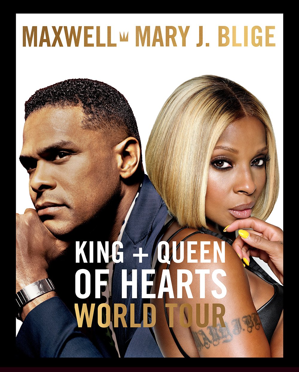 Real love: Mary J. Blige and Maxwell are touring together this fall