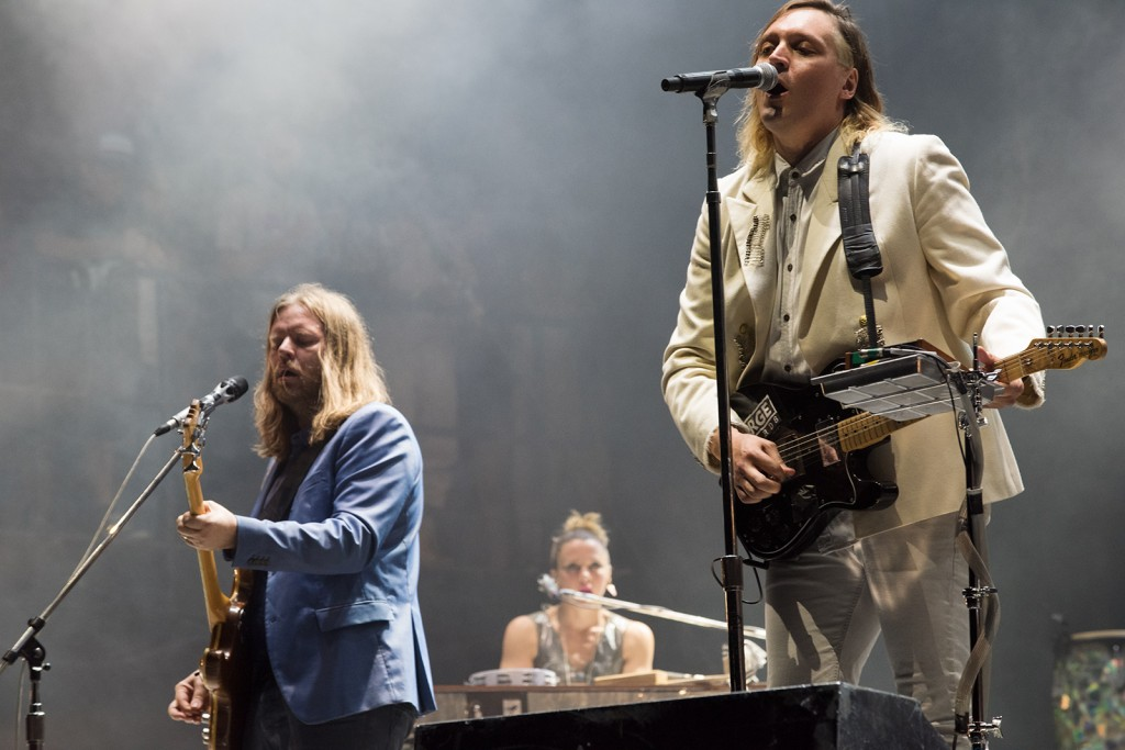 Arcade Fire. Photo by Ryan Hodgson-Rigsbee.