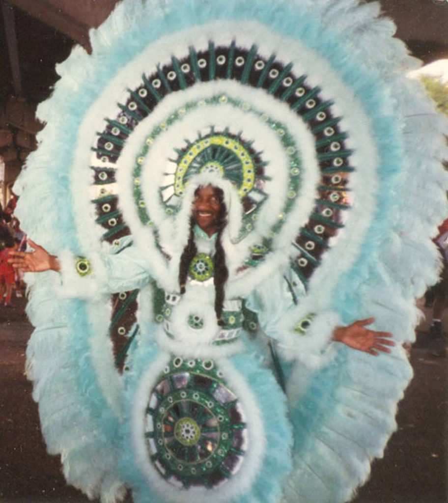 "Clarence ""Big Chief Delco"" Delcour of Creole Osceola."
