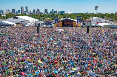 Crowd, Jazz Fest, Photo by Erika Goldring