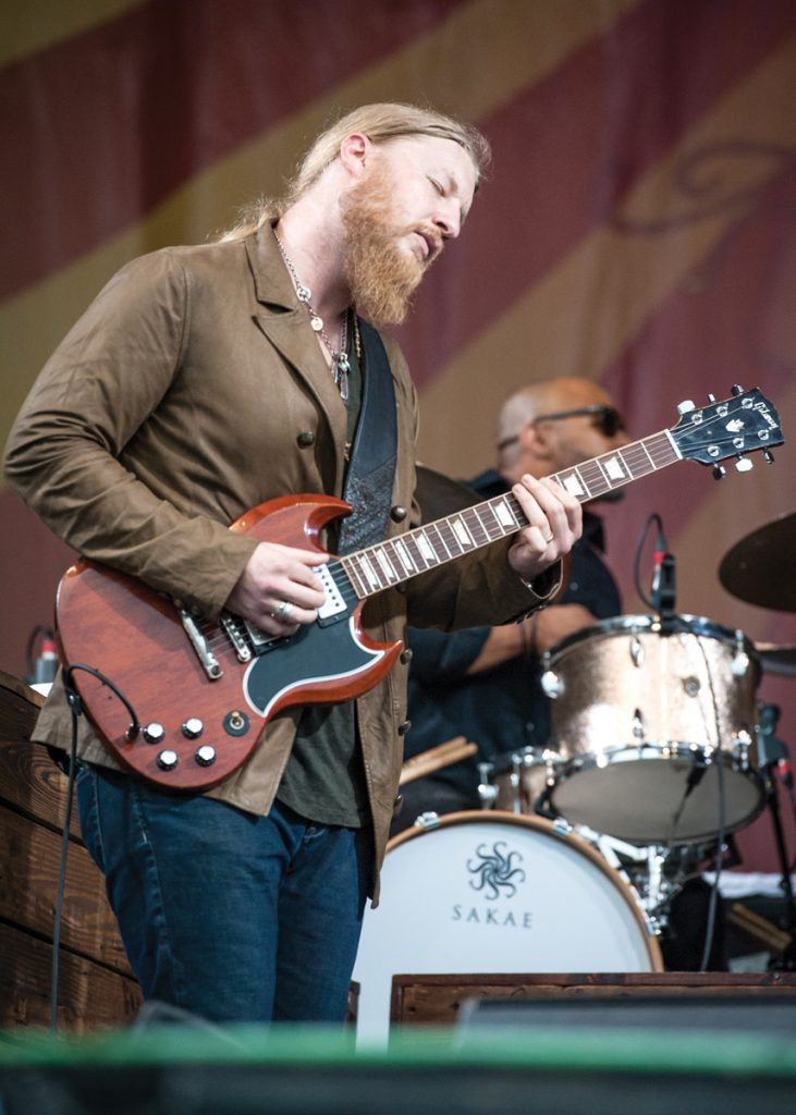 Derek Trucks at Jazz Fest.