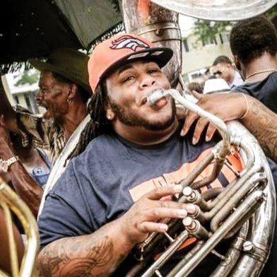 Travis Carter of Da Truth Brass Bad