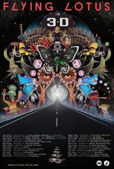 Flying Lotus 3D Tour