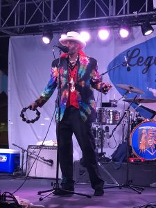 Cyril Neville on LRBC #21. Photo: Meredith Ramsey