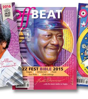 OffBeat Magazine Jazz Fest Bible 2018 (pre-sale)