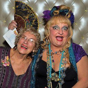 Becky Allen (right) with former Jazz Fest producer Nancy Ochsenschlager.Photo COURTESY OF BECKY ALLEN/FACEBOOK