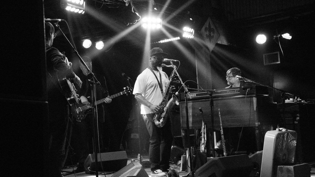 Karl Denson of the Greyboy Allstars at Tipitina's on Sunday, May 6, 2018, Photo by Noé Cugny