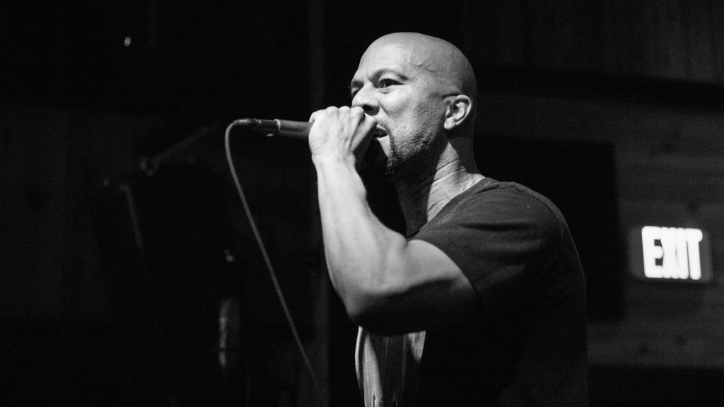 Common at Three Keys, Saturday, April 28, 2018 Photo by Noé Cugny