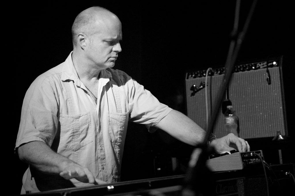 John Medeski at One Eyed Jack's, Monday, April 30, 2018 Photo by Noé Cugny