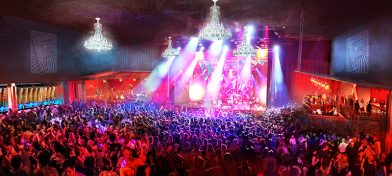 A rendering of the Music Hall inside the Fillmore New Orleans