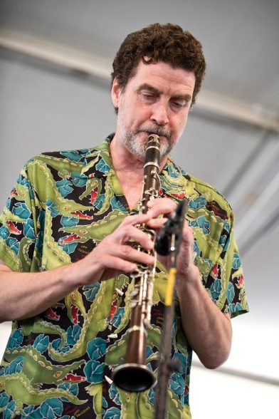 Tommy Sancton performs at the 40th Annual New Orleans Jazz & Heritage Festival in New Orleans, LA, April 24, 2009.