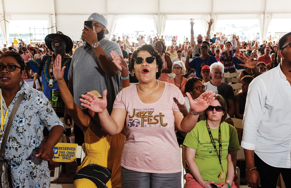Jazz Fest Redux: Sights & Sounds of the 50th New Orleans