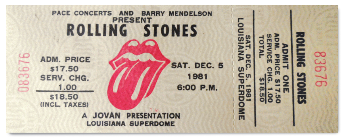 The Rolling Stones Tour in 1981 set a record that would