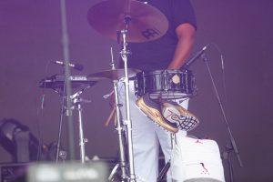 Lumar Leblanc of The Soul Rebels at Bonnaroo 2019