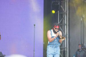 Julian Gosin of The Soul Rebels at Bonnaroo 2019