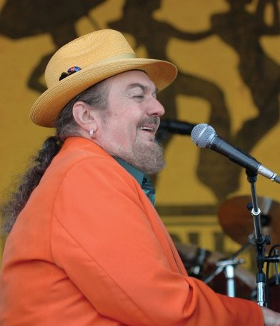 NEW ORLEANS, LA-APRIL 24: Dr. John performing at the New Orleans Jazz & Heritage Festival on April 24, 2005. (Photo by Clayton Call/Redferns)