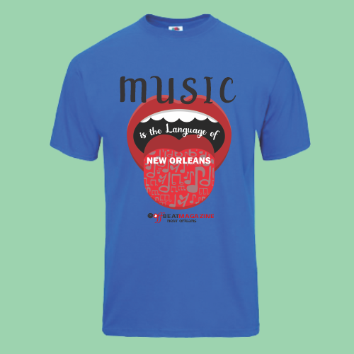 It S A Funky Life T Shirts Music Is The Language Offbeat Magazine