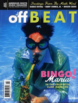 Offbeat Cover for July, 2003
