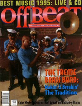 Offbeat Cover for January, 1996