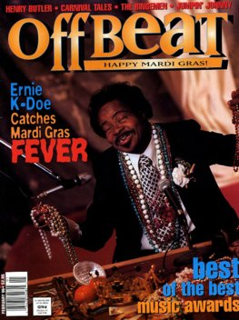 Offbeat Cover for February, 1996