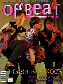 Offbeat Cover for March, 1996