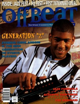 Offbeat Cover for April, 1996