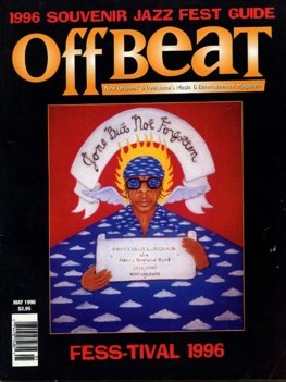 Offbeat Cover for May, 1996