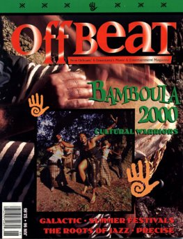 Offbeat Cover for June, 1996