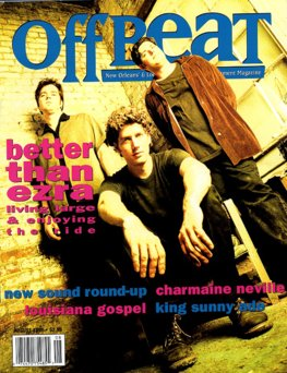 Offbeat Cover for August, 1996